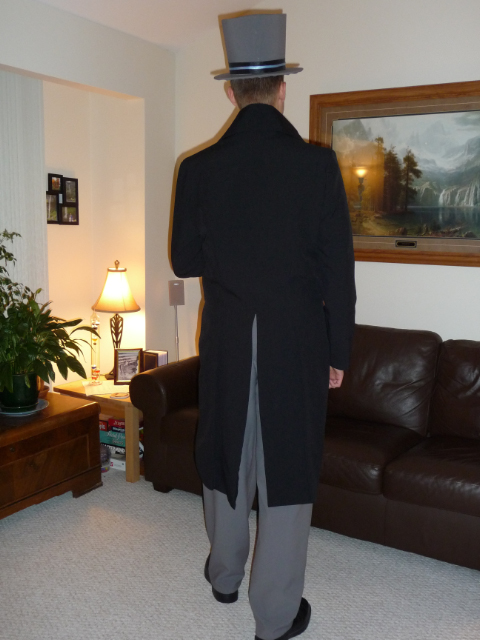 Mr. Darcy (back view)