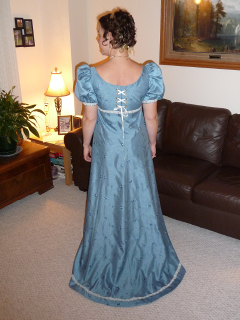 Elizabeth Bennet (back view)