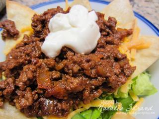 ATK Beef Taco meat.  YUMMMMM.