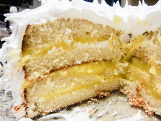 ATK Lemon Layer cake