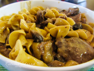 ATK Skillet Beef Stroganoff: supper on Mother's Day made by Joel
