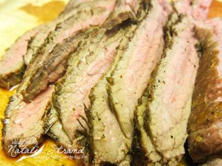 ATK steak fajitas (grilled flank steak)