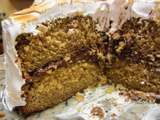 SK s'more layer cake