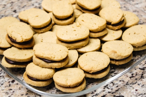 Smitten Kitchen Chocolate Peanut Butter cookies