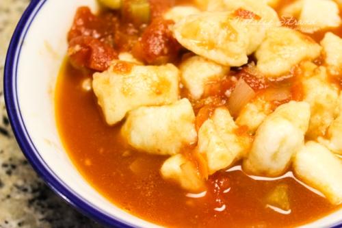 SK Gnocchi in Tomato Broth