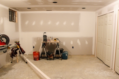 basement progress: doors and trim!