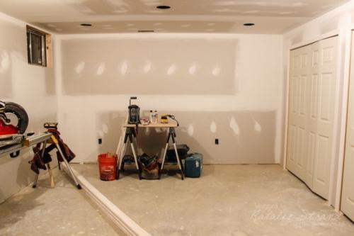 basement progress: doors and trim!
