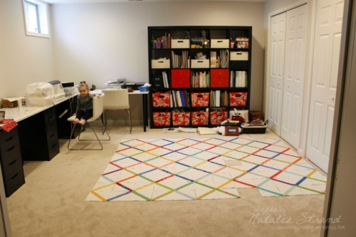 Quilt layout in progress!