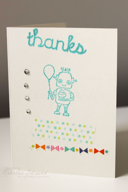 Thank you card for Jennifer