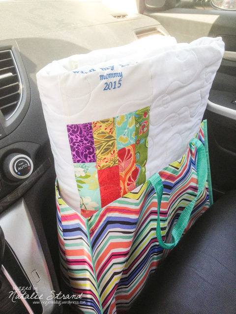 Just picked up the quilt!!!!!!!!!!!!
