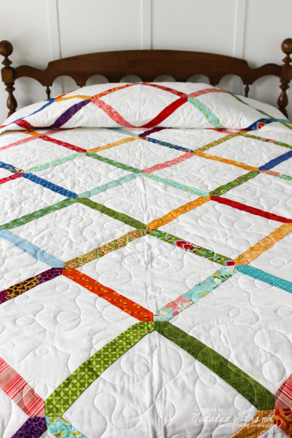 Finished quilt.