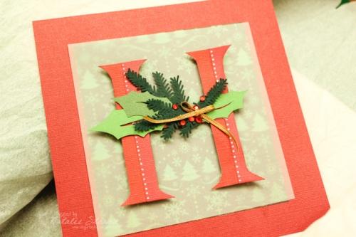 "Christmas ""H"" monogram"