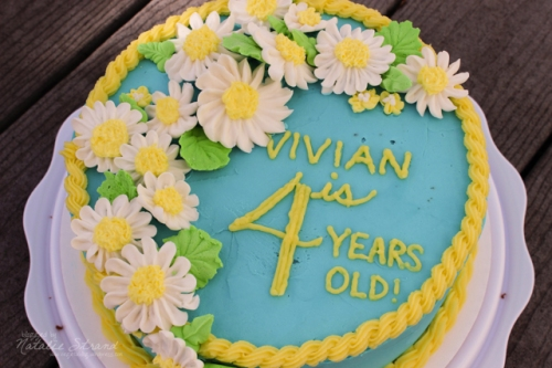 Vivian's fourth birthday cake