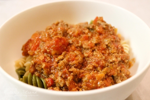 ATK weeknight bolognese