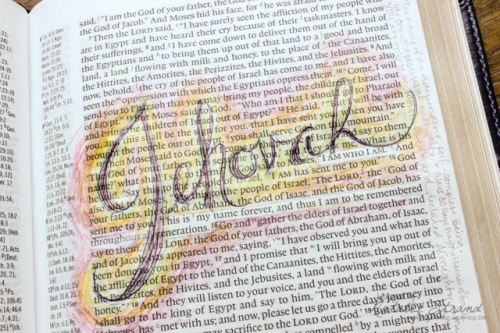 devotion on the name of God: Jehovah, from Exodus 3:13ff