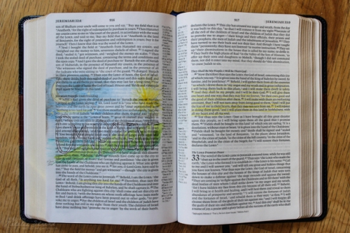 devotion on the attribute of God: omnipotent, from Jeremiah 32:16ff