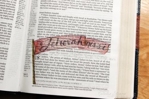 God is Jehovah-nissi: God our banner. Based on Exodus 17:8-15