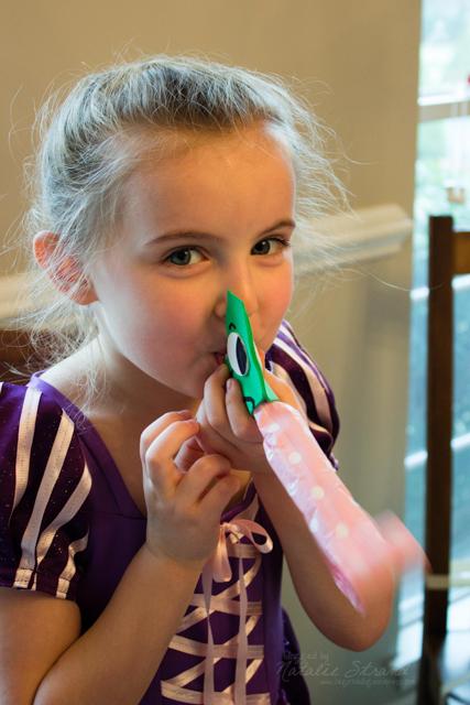 Vivian made a Pascal blower