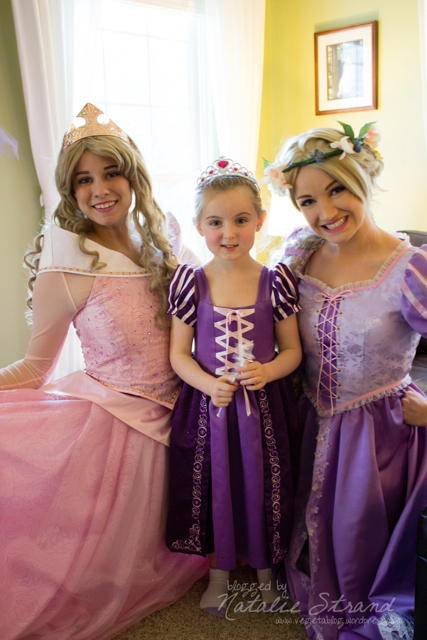 Aurora, Vivian, and Rapunzel