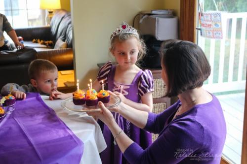 Vivian's fifth birthday party [Ed's camera]