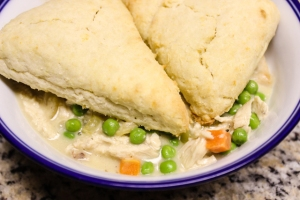 ATK skillet chicken pot pie