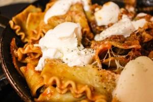 ATK skillet lasagna